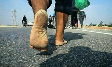 کفشهای آویزان